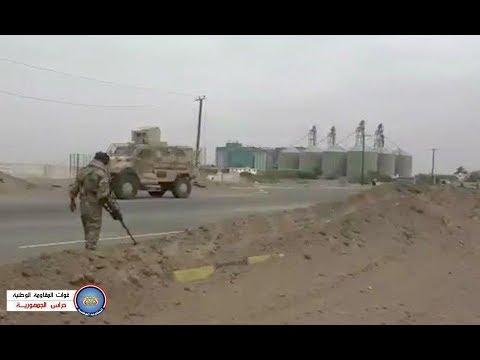 المقاومة الوطنية تنفذ حملة واسعة لنزع الألغام والحواجز الحوثية من المناطق المحررة بمدينة الحديدة