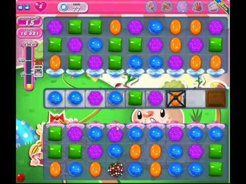 candy crush saga level 75-80 - YouTube