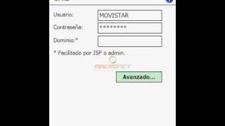Configuracion GPRS