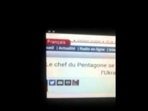 Benjamin Vendé aime Chuck Hagel (Pentagon Boss)