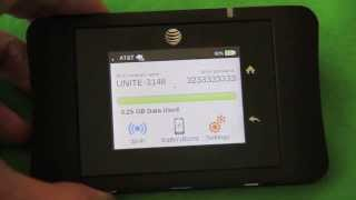 AT&T Unite Pro Review. 4G LTE WiFi HotSpot Tested In Real