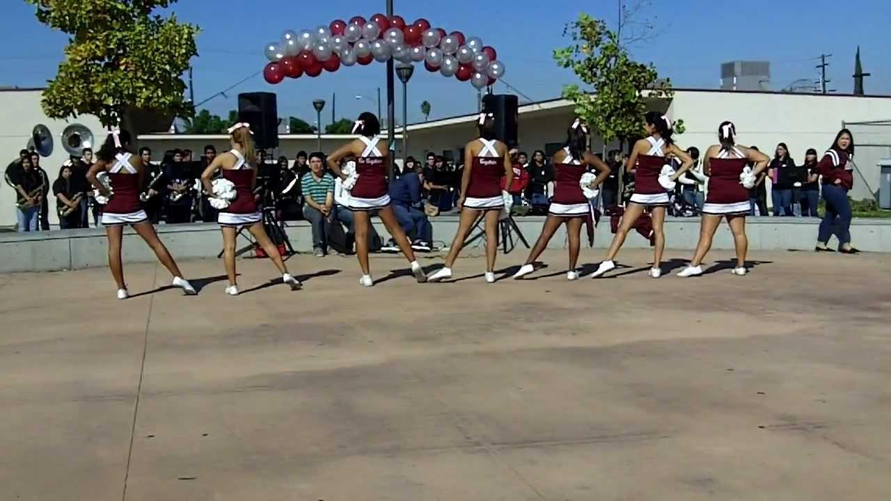 Bell Gardens High School Cheerleaders Song Youtube