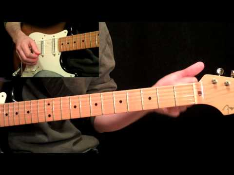 Stevie Ray Vaughan - Pride And Joy Guitar Lesson Pt.2 - 1st Two 12 Bar Progressions