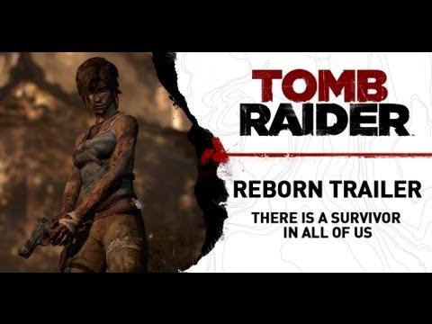 Tomb Raider — трейлер «Я — Лара Крофт»