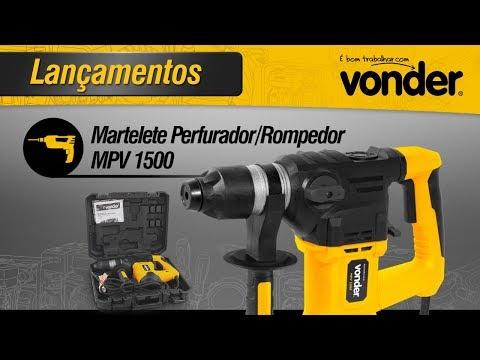 Martelete Perfurador/Rompedor MPV 1500