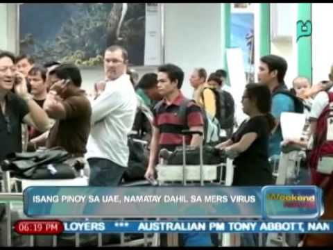 [The Weekend News] Isang Pinoy sa UAE, namatay dahil sa MERS Virus [04|12|14]