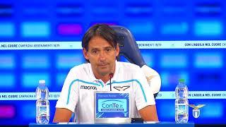 La conferenza stampa di mister Inzaghi alla vigilia di Lazio-Napoli