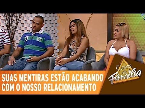Casos de Família (15/01/15) - Suas mentiras estão acabando com o nosso relacionamento! - Completo