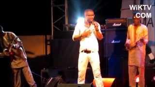 Ousmane Gangué à la Fête de la Musique 2013