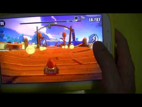 Gameplay Android - Angry Birds GO! - Samsung Galaxy Note 8 N5110 - PT-BR - Brasil