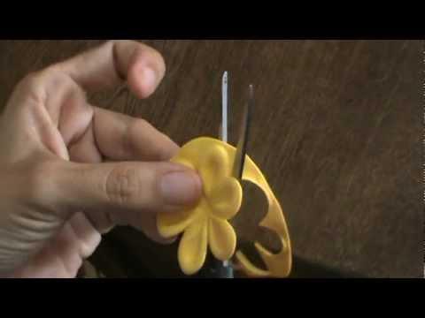 Como Hacer Flores De Foami
