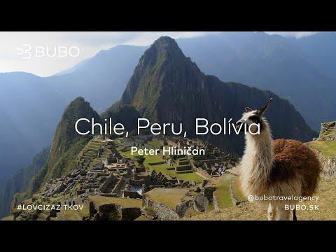 BUBO premietanie: Chile, Peru, Bolívia - Peter Hliničan