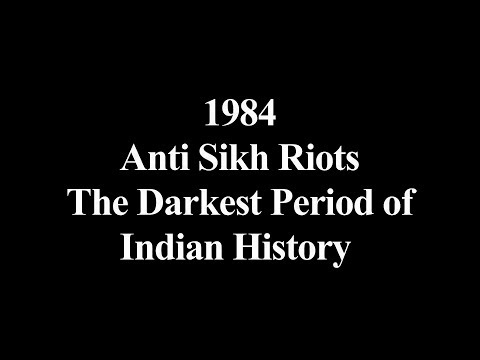 1984  Anti Sikh Riots