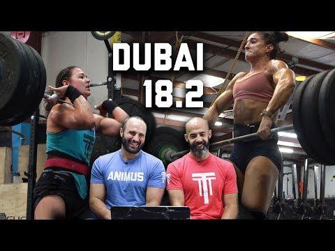 Dubai CrossFit Championship Qualifier 18.2 (Brandi McG + Cal Natori) | The Session Ep. 14