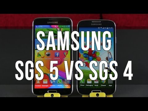 Samsung Galaxy S5 vs Samsung Galaxy S4 in-depth comparison