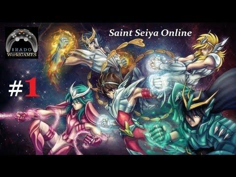 Cavaleiros do Zodíaco MMORPG Saint Seiya Online SSO#1