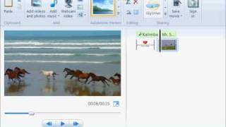 Windows Live Movie Maker Tutorial #1: Replace Video Audio