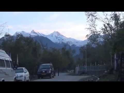 Sunrise On Snow Peaks At Pahalgam  Video
