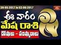 Aries Weekly Horoscope By Sankaramanchi    28 May 2017 - 03 June 2017    Bhakthi TV