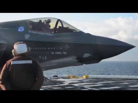Lockheed Martin F-35 Fighter International Debut Preview - AINtv