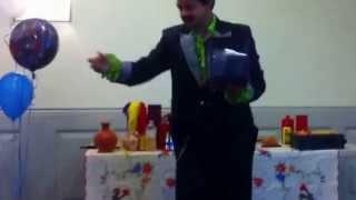 Toronto Magician Raj Video 1