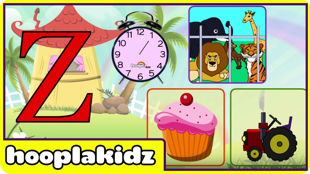 Learn About The Letter Z - Preschool Activity
