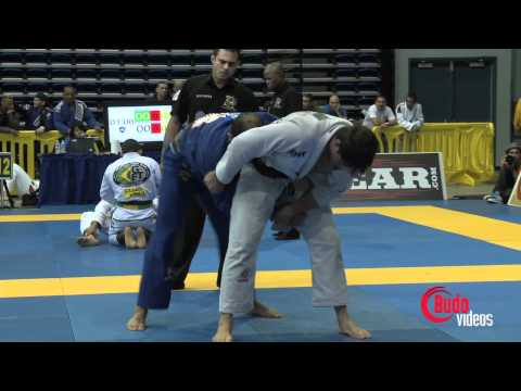 Pan Jiu Jitsu 2012 Open Weight semi fianals Gracie x Buchecha Faria x Carlos Jr