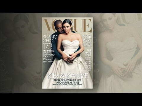 Vogue Readers Question Kanye West, Kim Kardashian Cover