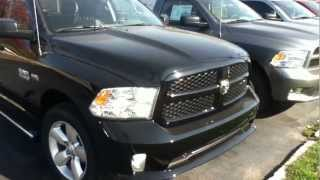 Craig Dennis' Exclusive New 2013 Ram 1500 Quad Cab Express Deals Near Pittsburgh. videos