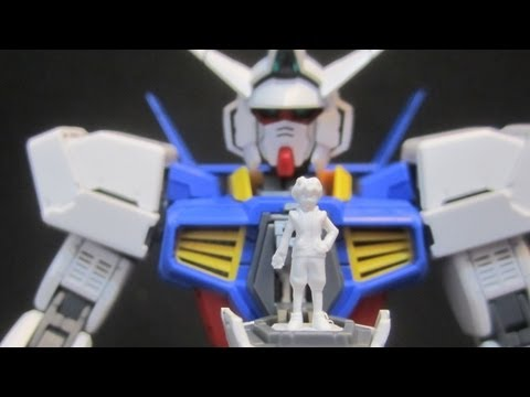 MG Age-1 Normal (Part 3: Parts) Gundam Age gunpla 1/100 model review