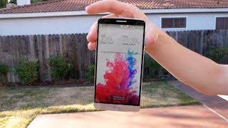 بالفيديو سقوط هاتف LG G3 على الارض