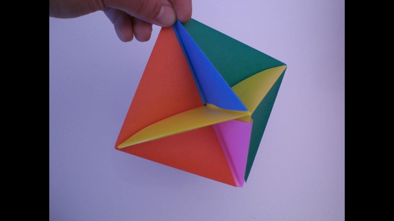 Как сделать игрушку с оригами