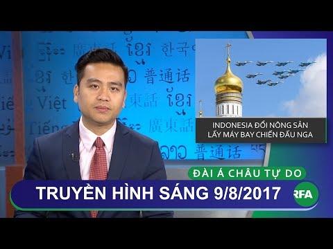 Thời sự 09/08/2017 | Nga đổi máy bay chiến đấu lấy nông sản Indonesia vì bị cấm vận