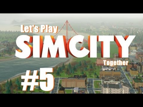 Let's Play together Sim City 5 #5 - Der Mann der schweigt [Deutsch] [HD] [FC]