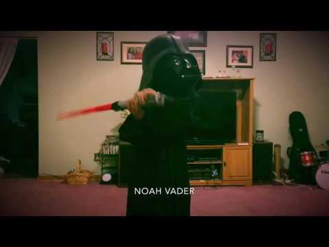 Noah Vader Birthday Thanks