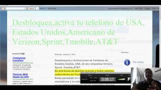 Desbloqueos,Activaciones De Celulares,smartphones Verizon