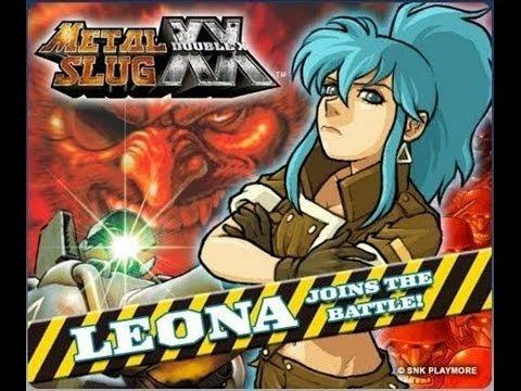 Metal Slug XX - Leona Heidern
