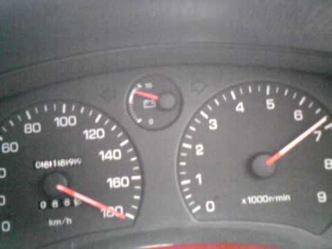 Разгон Toyota MR2 с двигателем 3S-GE от 0-180 км/ч