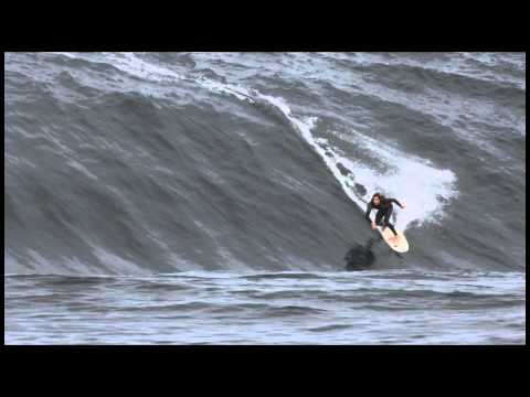 Brett Burcher at The Right - Wipeout of the Year Entry - Billabong XXL Big Wave Awards 2013