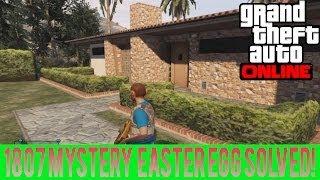"""GTA 5 """"1807 Mystery House"""" Easter Egg SOLVED! GTA 5"""
