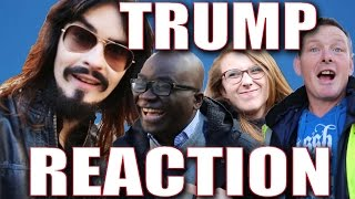 Irish People React to America's - 'PRESIDENT TRUMP!!