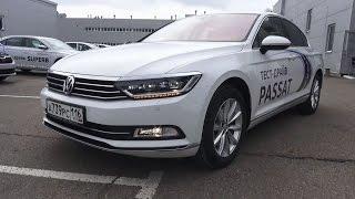 2017 Volkswagen Passat B8. Обзор (интерьер, экстерьер, двигатель).. MegaRetr