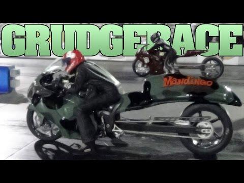 Mandingo Hayabusa vs Gixxer 1000 grudge race MIRock 2013