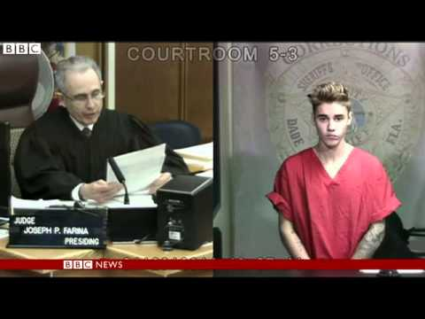Justin Bieber charged with limo assault