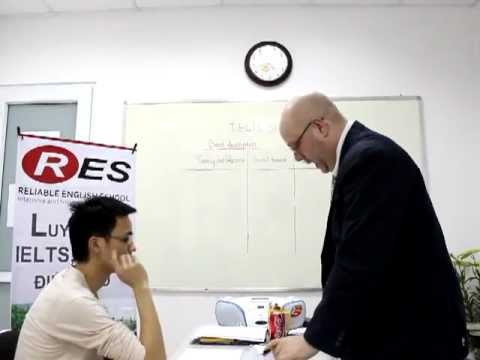 IELTS Speaking Test and Feedback by Mr Mike (clip 1)