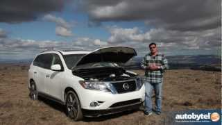 2013 Nissan Pathfinder Off-Road Test Drive & Crossover SUV