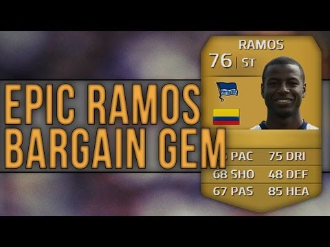 FIFA 14 | Bargain - EPIC ADRIAN RAMOS! Review & In-Game Stats | Ultimate Team