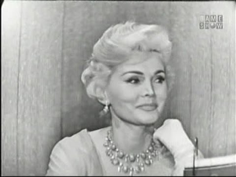 Zsa Zsa Gabor on what my line