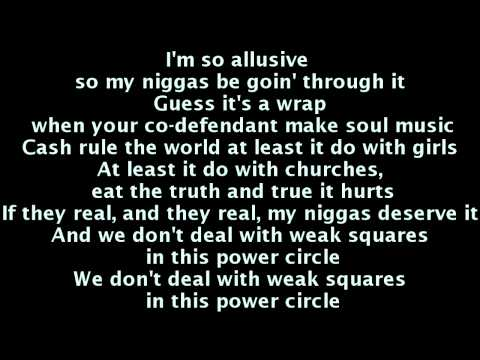 MMG - Power Circle Lyrics (Kendrick Lamar, Gunplay, Stalley, Wale, Meek Mill, Rick Ross)