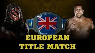WWE 2K14 Retro Kane VS Retro Big Show European Title